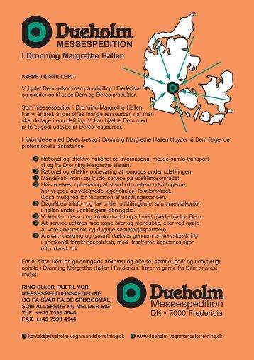 I Dronning Margrethe Hallen - Danske Fagmesser