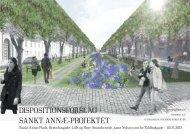 Sankt Annæ Projektet - dispositionsplan 1 - hovedstruktur