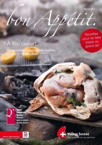 A feu ouvert - Schweizer Fleisch