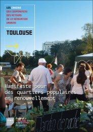 TOULOUSE - Ecoles de la rénovation urbaine