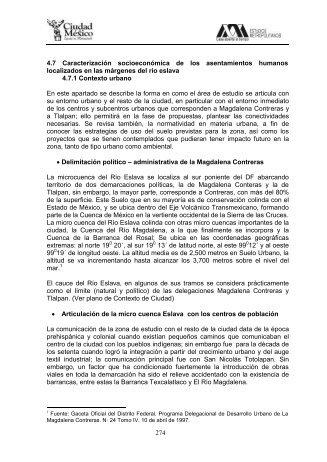 Caracterización socioeconómica - Secretaría del Medio Ambiente ...