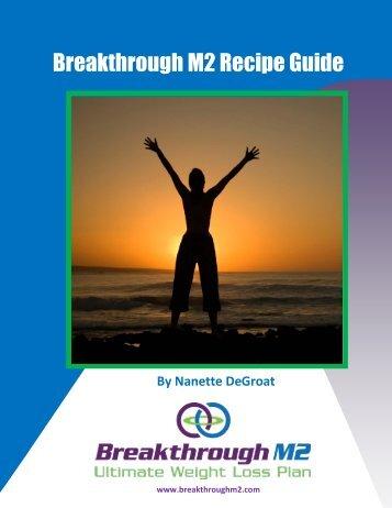 Breakthrough M2 Recipe Guide - BreakThroughM2