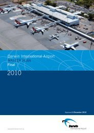 2010 Master Plan - Darwin International Airport