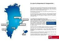Fra øst til vest... - Air Greenland