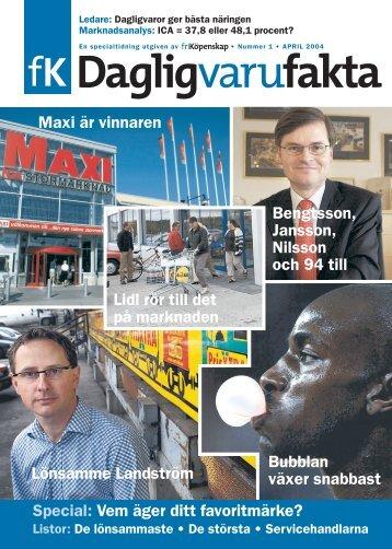 Lönsamme Landström Maxi är vinnaren Bubblan ... - Fri Köpenskap