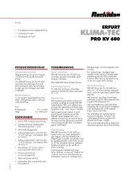 ERFURT-KlimaTec Pro KV 600 - Rockidan
