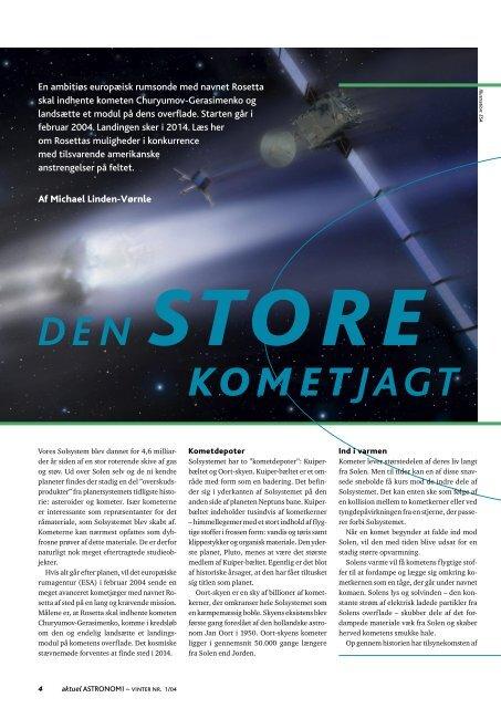 KOMETJAGT - Horsens HF og VUC