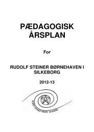 Børnehavens Årsplan - Rudolf Steiner Skolen i Silkeborg
