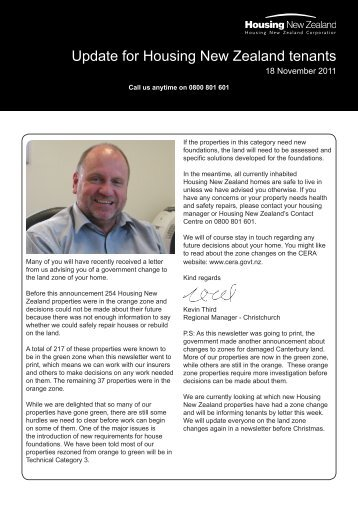 Update to Tenants Issue 15 - 18 November 2011 - Housing New ...