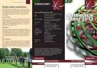 Matematik Camp 2012 UNF UNF