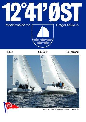 Nr. 2 Juni 2011 38. årgang - Dragør Sejlklub