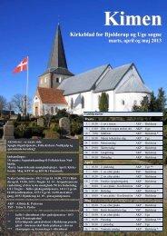 Kirkeblad for Bjolderup og Uge sogne - Uge kirkers