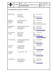 Forretningsudvalget (FU) - Flyvevåbnets Soldaterforening
