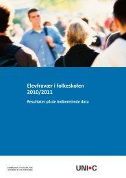 Elevfravær i folkeskolen 2010/2011