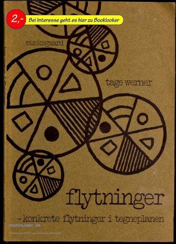 Tage Werner Flytninger - konkrete flytninger i tegneplanen