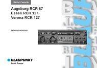 Augs87/Es/Ver127 dk - Blaupunkt