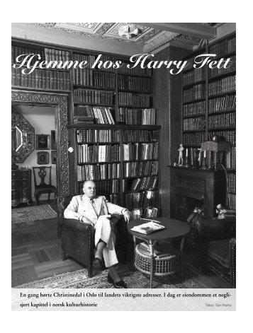 Hjemme hos Harry Fett - Disen Kolonial Sjur Harby