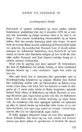 Gaven til Frederik III - Bornholms Historiske Samfund
