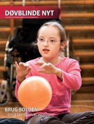Døvblinde Nyt nr. 3, 2010 - Servicestyrelsen