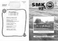 SMK-Nyt 1 - Silkeborg Motorbåd Klub