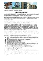Aktivitetsmedarbejder - Boligselskabernes Landsforening