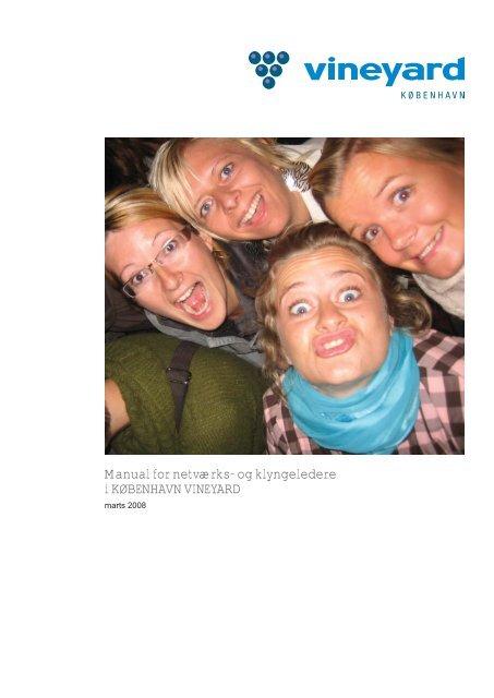 Manual for netværks- og klyngeledere i KØBENHAVN VINEYARD