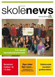 Januar 2013 - Auning Skole