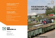 Genbrugspladserne - Erhverv