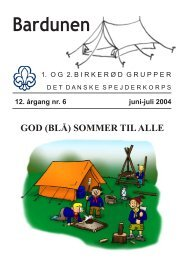 Juni/Juli 2004 - 962 kb. - 1. Birkerød Gruppe