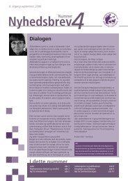 Nyhedsbrev nr. 4 - Danske Ældreråd