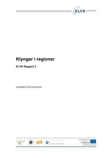 Klynger i regioner - Om ELYK projektet