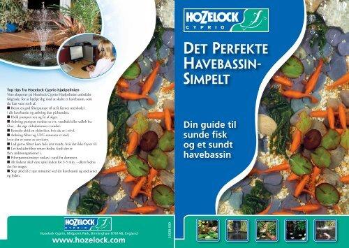 det perfekte havebassin- simpelt - Hozelock