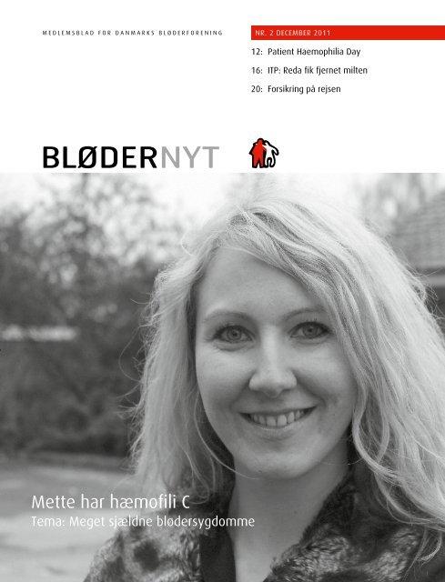 BløderNyt, december 2011 - Danmarks Bløderforening.