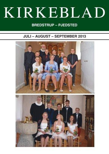 Kirkebladet 2-2013 - Bredstrup-Pjedsted
