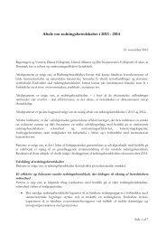 Aftale om redningsberedskabet i 2013 - 2014 - Beredskabsstyrelsen