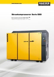 ESD 200–250 kW - Kaeser Kompressorer A/S