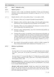 Se Del 2 specifikke bestemmelser for klasse 7