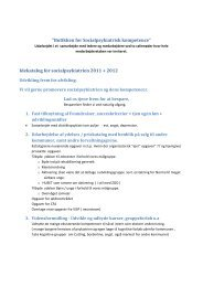 idekatalog for socialpsykiatrien 2011.doc - Guldborgsund Kommune
