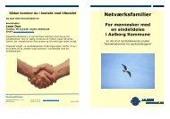 Folder om netværksfamilier - Aalborg Kommune