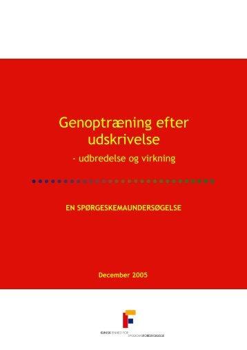 Genoptræning efter udskrivelse - Bispebjerg Hospital