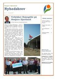 DOWNLOAD: Nyhedsbrev no. 8 - Hospice Djursland