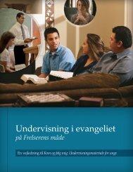 Undervisning i evangeliet