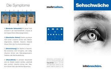 Sehschwäche   Amon U0026 Sebold