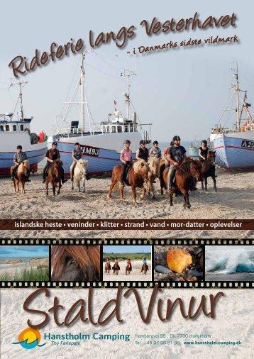 Hent 8-siders rideprogram her - Hanstholm Camping
