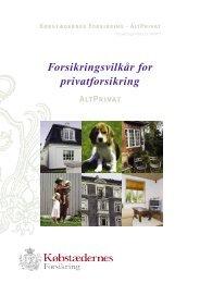 Altprivat betingelser - download pdf-fil