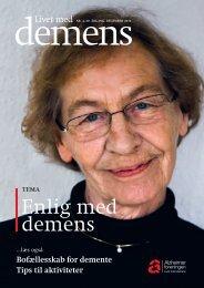 Enlig med demens - Alzheimerforeningen