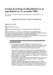Udlændinge og ægteskab - Retspolitisk Forening