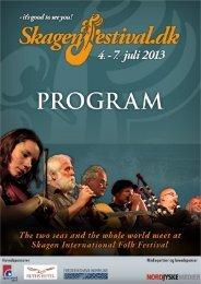 Download Program - Skagen Festival