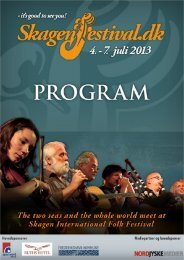 Download Program - Skagen Festival