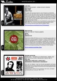 tubanytt uke 46 - Tuba Records